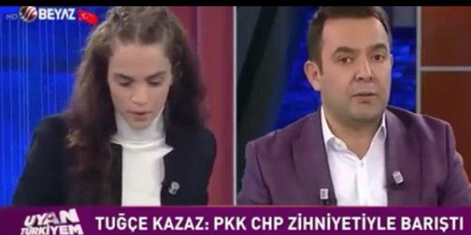 Tuğçe Kazaz, Atatürkçülere 'Allahsız' dedi!