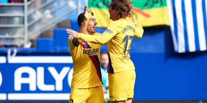 Barcelona, yıldızlarıyla kazandı