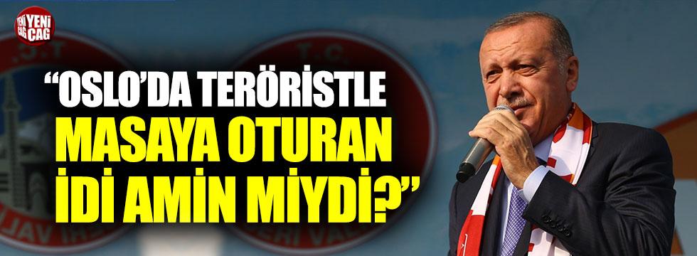 """""""Oslo'da teröristle masaya oturan İdi Amin miydi?"""""""