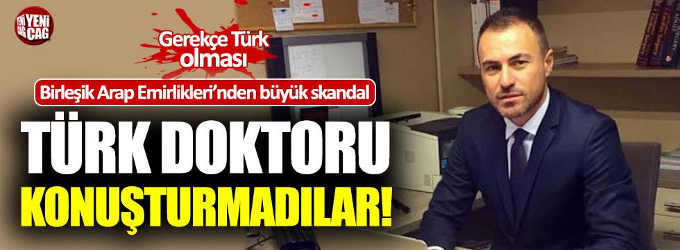 BAE'deki tıp kongresinde Türk cerrah konuşturulmadı!
