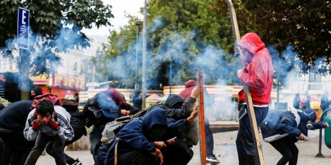 Şili'de ordu sokakta