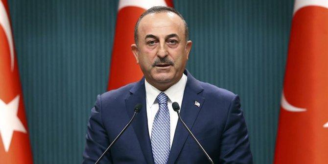 """Çavuşoğlu: """"Kobani ve Münbiç'i görüşeceğiz"""""""