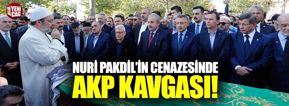 Nuri Pakdil'in cenazesinde AKP kavgası