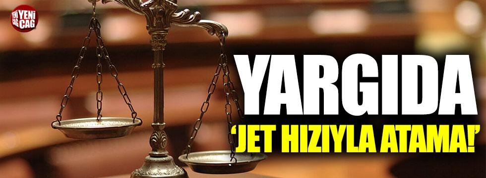 Yargıda jet hızıyla terfi