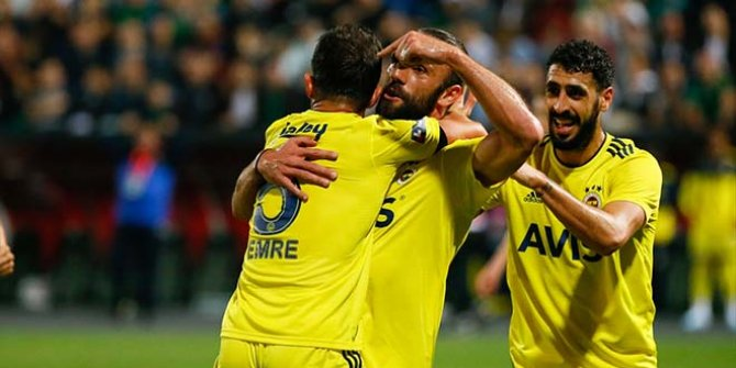 Fenerbahçe-Denizlispor: 1-2 (Maçın özeti)