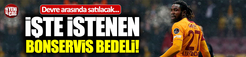 Luyindama Galatasaray'dan ayrılıyor mu?