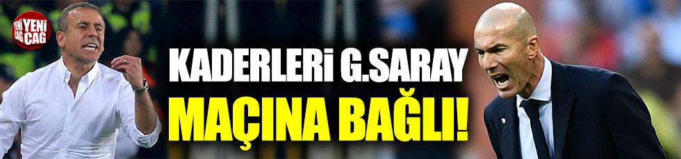 Zidane ve Avcı'nın kaderi Galatasaray maçlarına bağlı