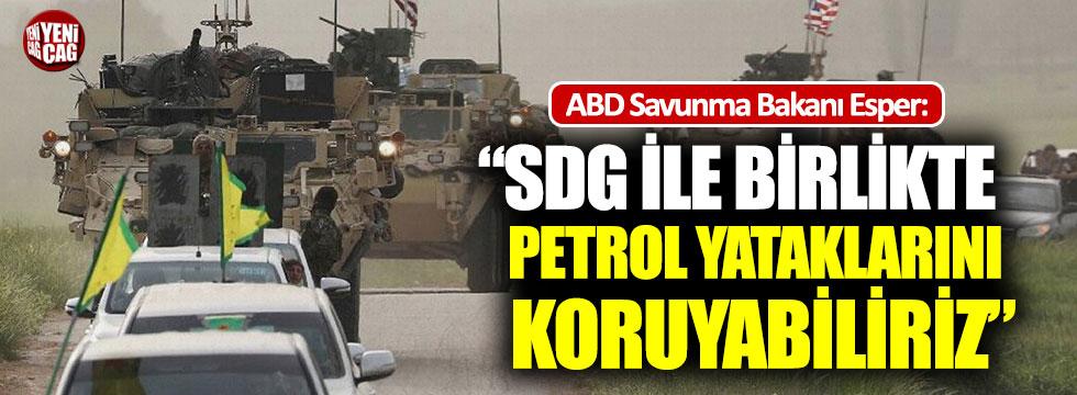 """ABD: """"SDG ile birlikte petrol yataklarını koruyabiliriz"""""""