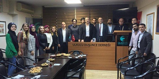 İYİ Partili Çelik'ten Ülkü-Der'e ziyaret