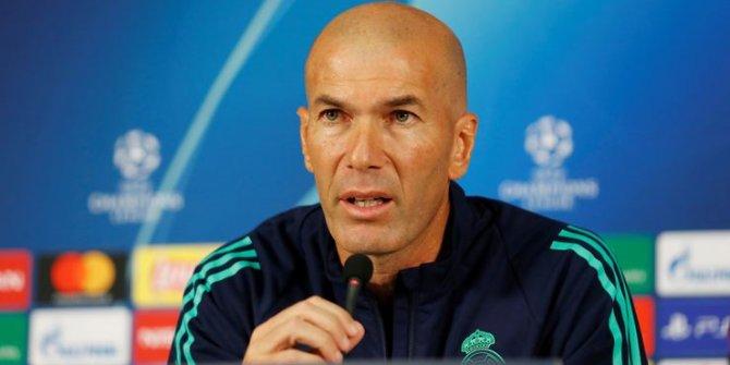 Zidane, Galatasaray maçı öncesi böyle konuştu