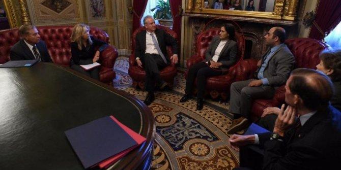 ABD'de skandal görüşme: SDG'li ismi makamında ağırladı