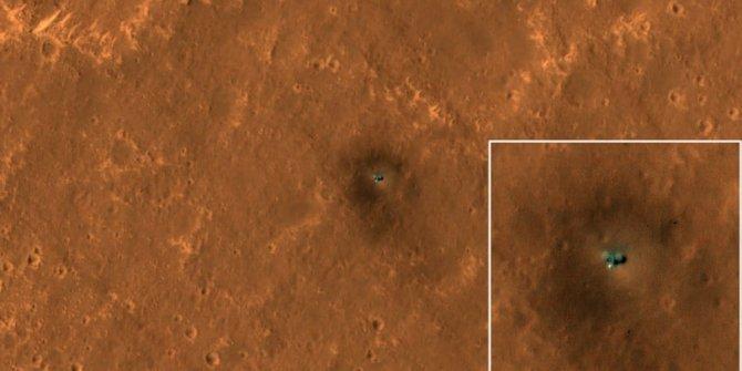 NASA'nın araçları Mars yüzeyinde görüntülendi