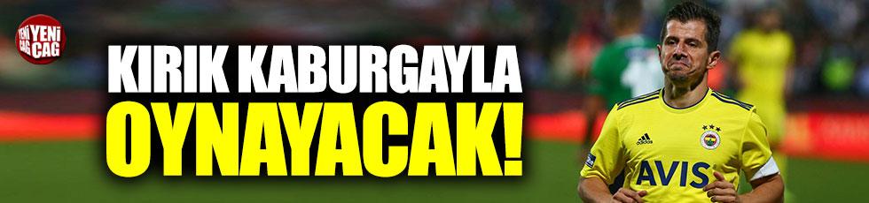 Emre Belözoğlu, bir ay kırık kaburgayla oynayacak