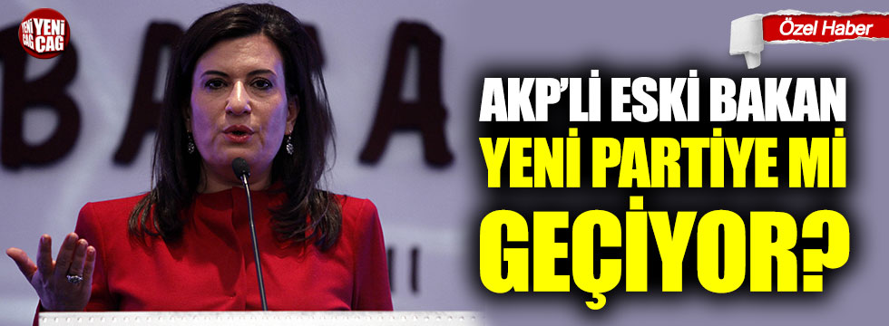 AKP'li iki eski bakan için yeni parti iddiası