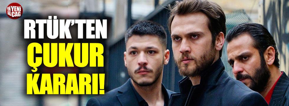 RTÜK'ten Çukur'a ceza