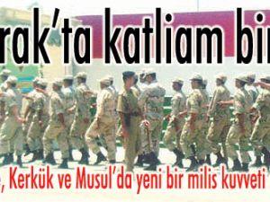 K. Irakta katliam birliği