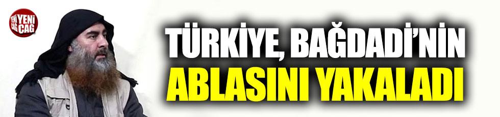 Türk yetkili: Bağdadi'nin kız kardeşini yakaladık