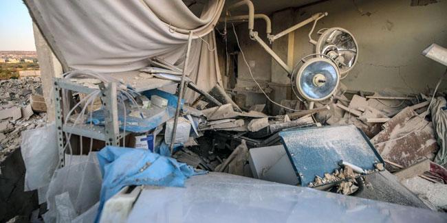 Rusya İdlib'de çocuk hastanesini vurdu