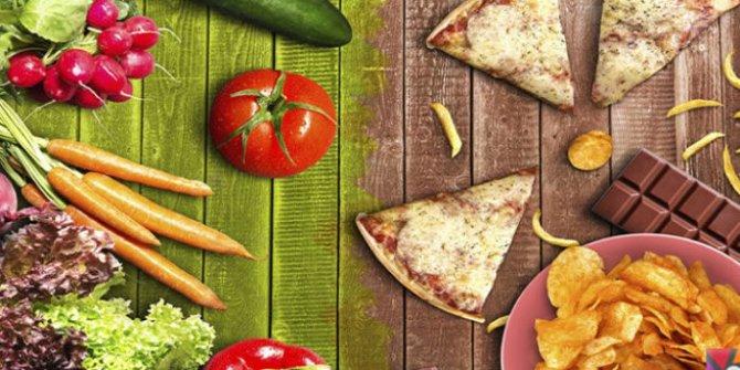Sağlıksız beslenmek hormonların düzgün çalışmasını engeller
