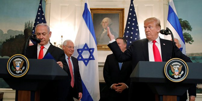 Trump'tan Netanyahu'ya rest!