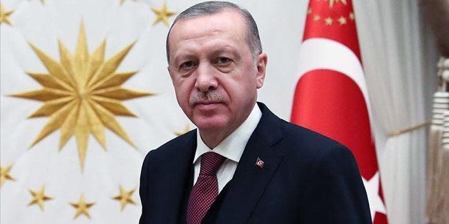 Erdoğan'dan KKTC'nin 36. kuruluş yıl dönümü mesajı