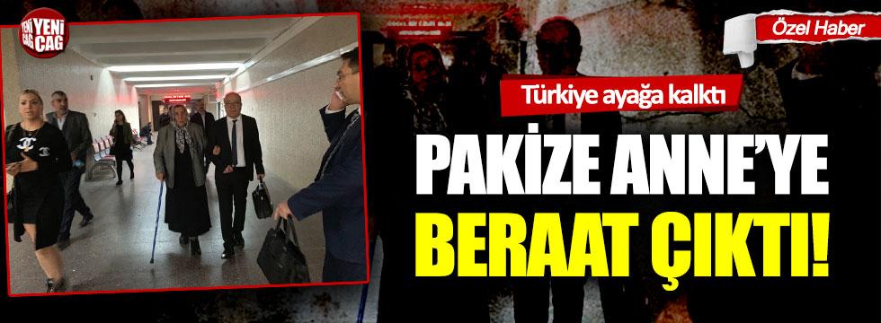 Türkiye ayağa kalktı: Pakize Anne beraat etti