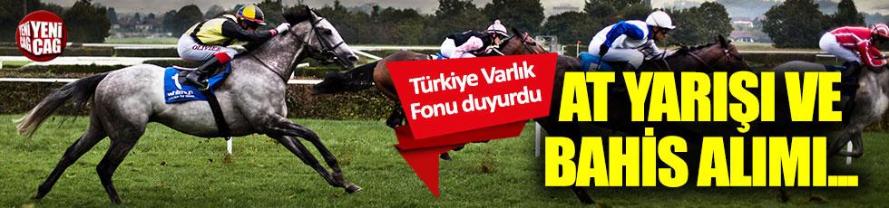 Türkiye Varlık Fonu: At yarışları ve bahis hizmet alımı yapılacak