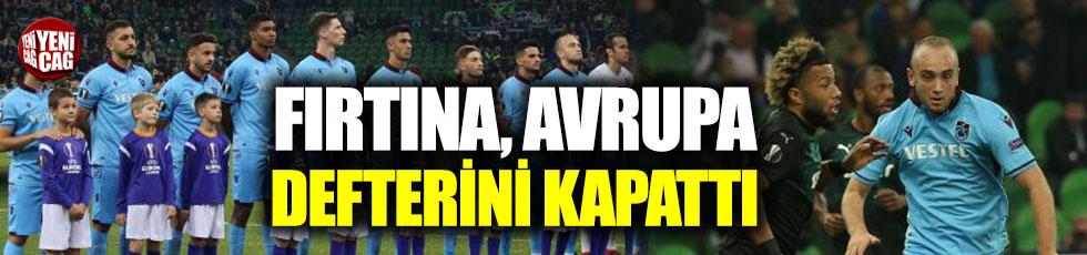 Krasnodar - Trabzonspor 3-1 (Maç özeti)