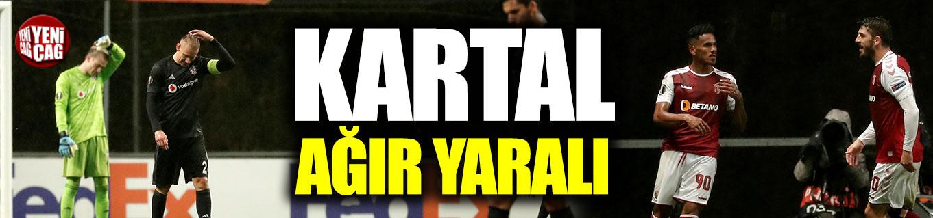 Braga - Beşiktaş 3-1 (Maç özeti)