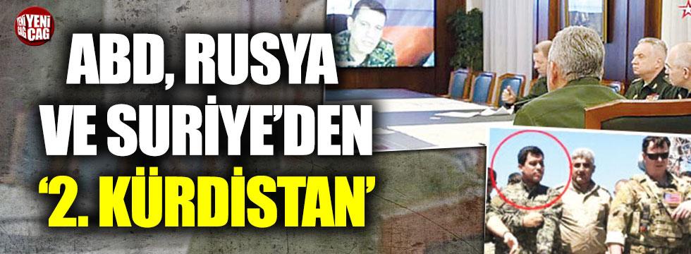 """ABD, Rusya ve Suriye'den 2. """"Kürdistan"""""""