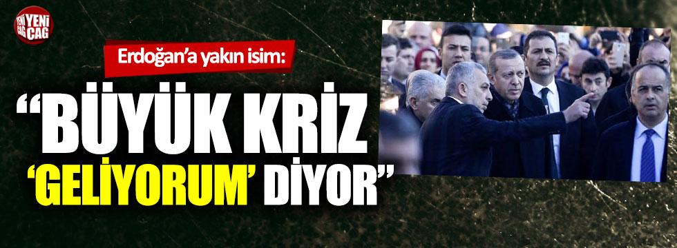 """Metin Külünk: """"Büyük kriz geliyorum diyor"""""""