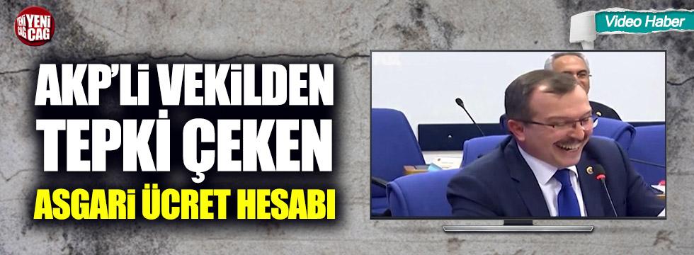 AKP'li vekilden tepki çeken asgari ücret hesabı!
