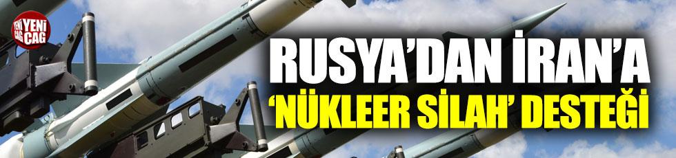 Rusya'dan İran'a 'nükleer silah' desteği