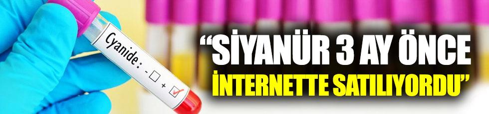 "Neşet Kadırgan: ""Siyanür üç ay önce internette satılıyordu"""