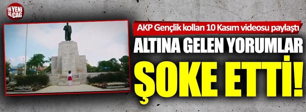 AKP'nin 10 Kasım videosuna şaşırtan yorumlar!
