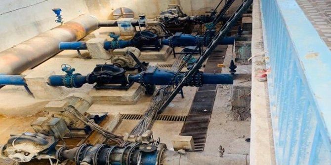 MSB: Haseke'ye su verilmeye başlandı
