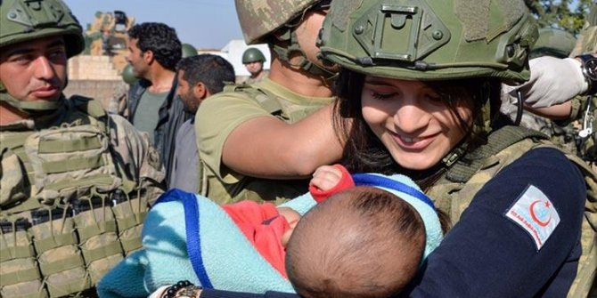 MSB'den Suriye'nin kuzeyine insani yardım