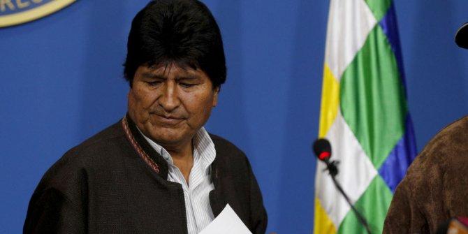 Evo Morales, Bolivya'dan ayrılıyor