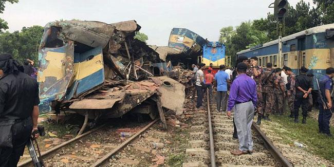 Tren kazası faciası: 15 ölü 60'tan fazla yaralı