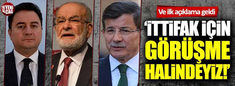 Karamollaoğlu'ndan ittifak açıklaması! Ali Babacan, Ahmet Davutoğlu...