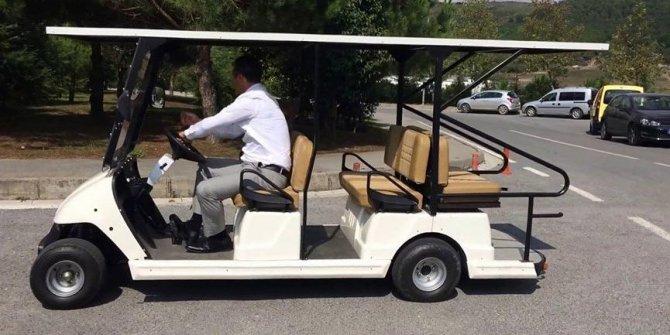 Golf sahası olmayan AKP'li belediye 270 bine golf arabası aldı