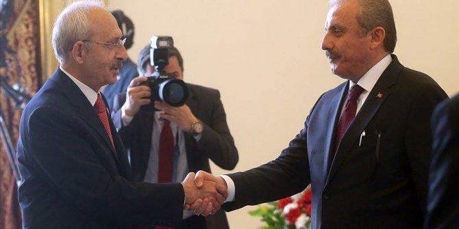 TBMM Başkanı Şentop, Kemal Kılıçdaroğlu ile görüşecek