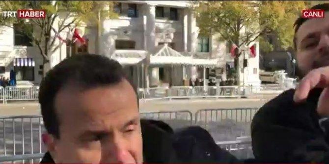 Türk basın mensuplarına saldırı!