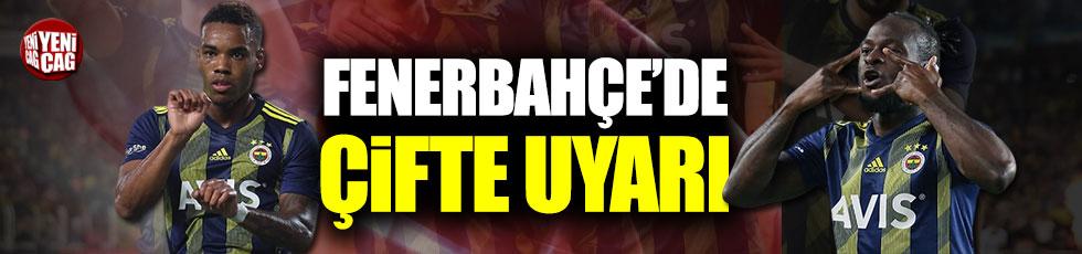 Fenerbahçe'de kanatlara çifte uyarı