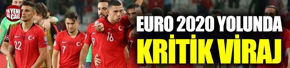 Milli Takım'dan EURO 2020 yolunda kritik viraj
