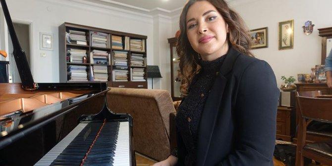 Azerbaycanlı piyanist İstanbul'daki hayali!