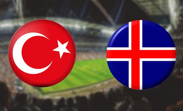 İşte Türkiye-İzlanda maçının ilk 11'leri