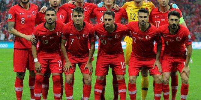 Türkiye İzlanda maçının en özel kareleri