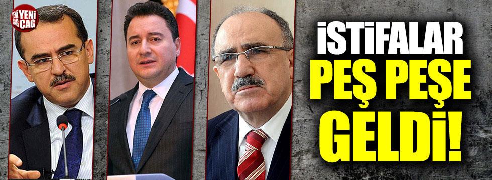 Ali Babacan, Sadullah Ergin ve Atalay'ın avukatları istifa etti