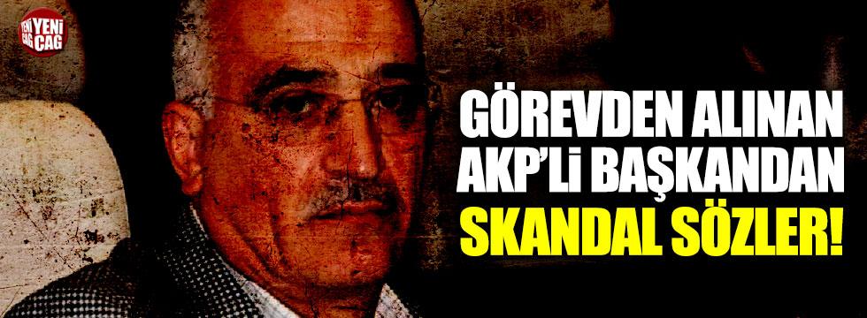 Atatürk'e hakaret eden AKP'li Hasan Uzunlar'dan skandal sözler